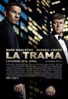 """Aquí tenemos la película para este fin de semana en el Cine de Huetor tajar """"La trama"""" con buenísimos actores, Russell Crowe y Mark Wahlberg, y catcher une Zeta Jones entre otras, película llena de intriga, misterio y acción Os la vais a perder?"""