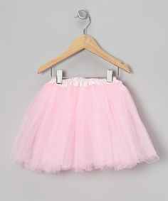Take a look at this Pink Basic Tutu by Bride and Babies on #zulily today!