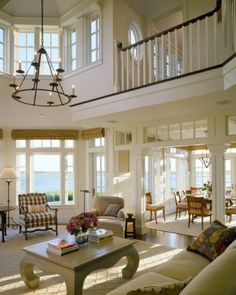 Unique Home Architecture — My favorite part is how the upper level opens up the great room.