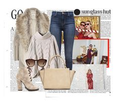 """""""Celebrate in Every Shade with Sunglass Hut: Contest Entry"""" by fashion-tagblog on Polyvore featuring moda, Victoria Beckham, River Island, J Brand, Michael Antonio, Wallis i Dolce&Gabbana"""