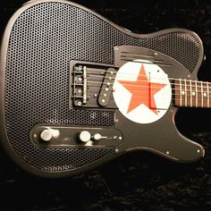 Another new arrival from #trussartguitars! Check out this #steelcaster RedStar…
