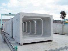 Three sided concrete box culverts culvert pinterest for Prefabricated underground homes