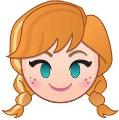 Anna [as an emoji] (Drawing by Disney) Disney Olaf, Anna Disney, Disney Tsum Tsum, Disney Art, Disney Pixar, Disney Princess, Disney Frozen, Disney Animation, Disney Movies