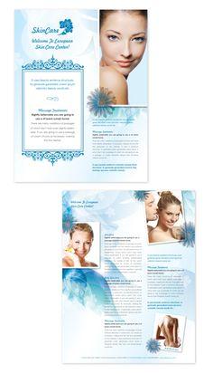 Trendy flower shop brochure template design can be used for Brochure templates for photoshop cs5