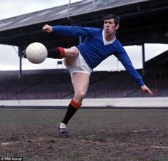 Glittering career : Rangers' legend John Greig won 3 domestic trebles and the European Cup Winners' Cup.