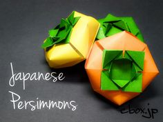 origami - Japanese Persimmons
