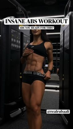 Gym Workout Videos, Abs Workout Routines, Gym Workout For Beginners, Fitness Workout For Women, Fitness Goals, Gym Workouts, Fitness Tips, Fitness Motivation, Fitness Inspiration