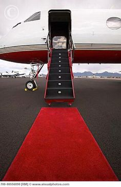 Private plane--love the first few seconds stepping on board