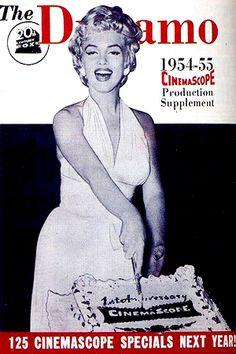 1954: The Dynamo (USA) magazine cover of Marilyn Monroe .... #marilynmonroe #normajeane #vintagemagazine #pinup #iconic #raremagazine #magazinecover #hollywoodactress #1950s