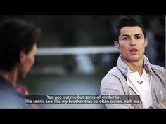 Rafa Nadal Interviews Cristiano Ronaldo! I guess this is more soccer related...