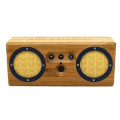Bongo Dark Grain Portable Speaker