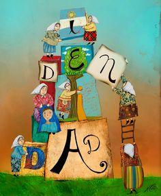 Ilustraciones y Palabrejas: IDENTIDAD - 24 de marzo de 2015 ,Día Nacional de la Memoria por la Verdad y la Justicia Sing The Alphabet, Crochet For Beginners, Banner, Snoopy, Fictional Characters, School, Spiritual, Logo, Ideas
