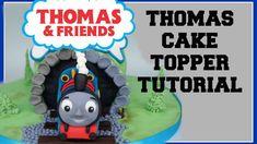 THOMAS THE TANK ENGINE FONDANT TOPPER TUTORIAL