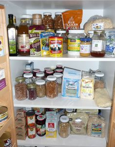 How to stock your pantry / fridge with Whole Food Cooking Essentials ...Good info!
