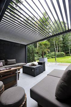 Outdoor Pergola, Outdoor Decor, Luxury Interior, Sweet Home, Home And Garden, Outdoor Structures, Patio, Komfort, Architecture