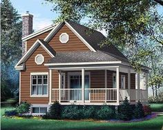 sq feet   a walkout basement  perfect small lakefront cottage    Small Cute House Plans   Small Cottage House Plans