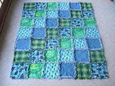 Rag Quilt!  #quilt #sewing #craft