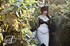 amazing corset and wedding photography.