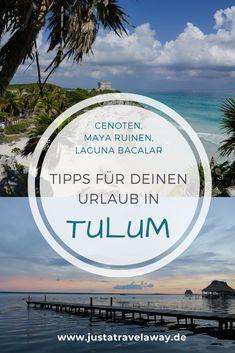 Wunderschöne Strände, türkisfarbenes Meer und uralte Maya Ruinen. Tulum in Mexiko ist in aller Munde. Du planst eine Reise nach Tulum und fragst dich, wo du übernachten sollst, wie du von A nach B kommst, was du in Tulum unternehmen sollst? Alle wichtigen Tipps rund um Tulum in Mexiko und unsere Cenoten-Tour findest du in unserem Blog-Artikel.