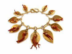 Golden Treasures of the Sea Necklace YSL