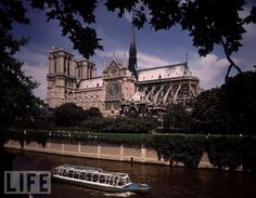 No Hunchback Required  Notre Dame shines above the River Seine. A monument to Gothic architecture, the cathedral houses an organ with more than 7,800 pipes, five of them dating back to the Middle Ages.