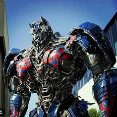 Optimus prime just stays fine.