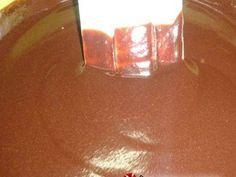 Καρυδόπιτα με κρέμα και γλάσο σοκολάτας φωτογραφία βήματος 12 Pudding, Engagement Rings, Crystals, Desserts, Food, Enagement Rings, Deserts, Custard Pudding, Puddings
