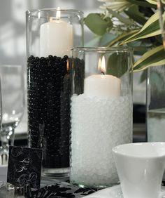 Vase Filler Gel Beads BLACK - 4oz Makes 3 Gallons - Water Storing Gel $7.99