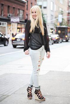 Pin for Later: Frisch eingetroffen: Neue Street Style Fotos aus New York Street Style bei der New York Fashion Week September 2015