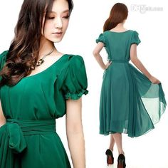 Wholesale Casual Dresses - Buy S9Q 2013 Women Maxi Chic Summer Vintage Long Ball Party Irregular Evening Dress AAABPF, $9.05 | DHgate
