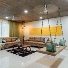 Living Room Partition Design, Living Room Sofa Design, Home Room Design, Small Apartment Design, Apartment Interior Design, Small Apartments, Living Room Designs India, Indian Living Rooms, Hall Interior Design
