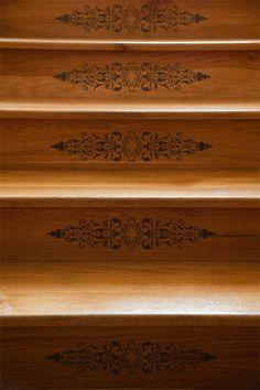Furniture Stencils | Filagree Panel Stencil | Royal Design Studio