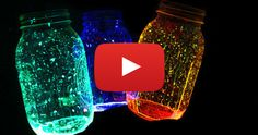 How To Make Homemade Fairy Glow Stick Lanterns For Halloween