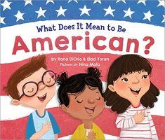 Title: What Does It Mean to Be American? Authors: Rana DiOrio, Elad Yoran, Nina Mata Publisher: Little Pickle Press Hardcover: 40 pages Source: NetGalley Summary: (taken from Goodreads) Buy from th… Kindergarten Activities, Fun Activities, Preschool, Book Club Books, New Books, Library Books, Cool Mom Picks, Attachment Parenting, It's Meant To Be