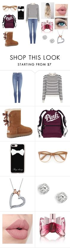 """Untitled #41"" by daniellelopez808 ❤ liked on Polyvore featuring Paige Denim, Oasis, UGG, Casetify, Wildfox, Disney and Viktor & Rolf"