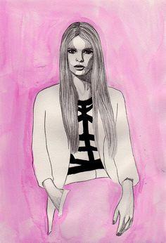 http://www.etsy.com/listing/92636489/pink-fashion-watercolor-75-x-11