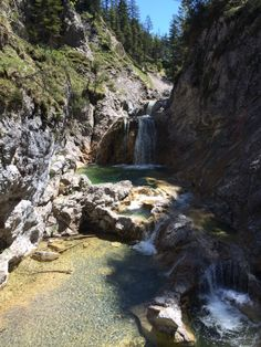 Stuibenfälle (Reutte) Austria, Tirol, Wanderweg