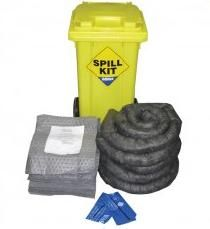 Adblue 100L Spill Kit  Quick Overview: - Spill material to soak up 100L of Adblue. - Product code: A9002 - Excl. Tax: £155.99 - Incl. Tax: £187.19 - Warranty : 1 Year  Ideal to store near Adblue IBC, drums or storage tanks.  - Spill material to soak up 100L of Adblue in total. - 100L kit housed in plastic wheeled bin (950 x 480 x 560mm)