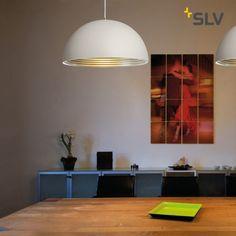 SLVRotoball Pendelleuchte E27 Küche silber Stahl