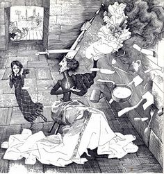 Illustration by Gennady Kalinovsky, Alice's Adventures in Wonderland