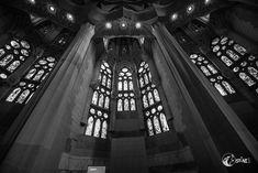 Kirchenfenster – black and white