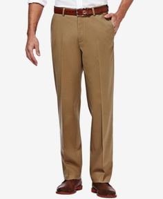 Essentials Mens Standard Stain /& Wrinkle-Resistant Classic Work Pant