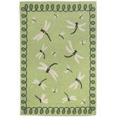 Found it at Wayfair - Napa Dragonfly Green Indoor/Outdoor Area Rug I like this green because it's bright. This runner comes in several color at a better price than the green. Coral and aqua.