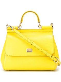 $15,800 yellow Dolce and gabbana bag
