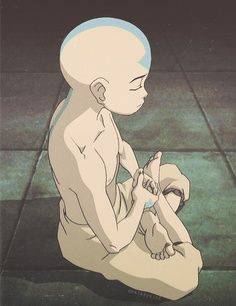 Avatar The Last Airbender : Aang : Meditation