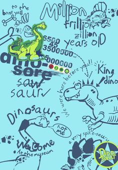 dino print by wendy burns