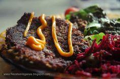 Recetas Veganas: hamburguesas de lentejas