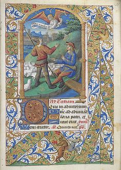The style of the Master of Jacques de Besançon (fl. in Paris, c. 1480-1500) is known from a small miniature of John with the poisoned cup in...http://www.bl.uk/catalogues/illuminatedmanuscripts