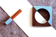 joias madeira marca Crua acessórios