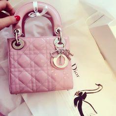 my cute mini lady dior pink
